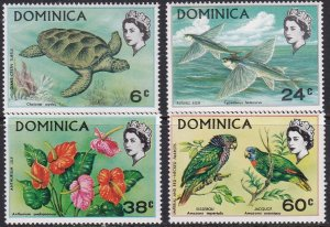Dominica 1970 Scott # 297-300a Protected Species MNH