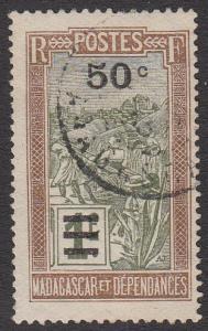 Madagascar 179 Used CV $0.75