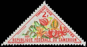 Cameroun - Scott J41 - Mint-Hinged - Folded Over Perforation Tooth