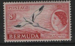 BERMUDA    153   MINT HINGED  FLYING BIRD