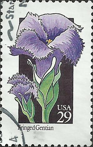 # 2672 USED FRINGED GENTIAN