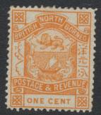 North Borneo  SG 37  MH  please see scans & details