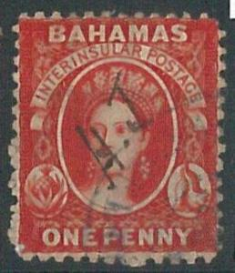 70307b - BAHAMAS - STAMP: Stanley Gibbons # 25   -  Used