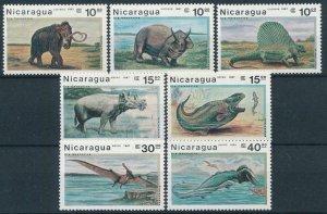 1987 Nicaragua 2775-2781 Dinosaurs 7,00 €