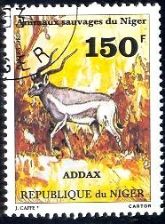 Addax, Niger stamp SC#542 used