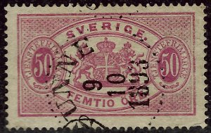 Sweden O23 Used F-VF Value $21.00...Bid to win!!