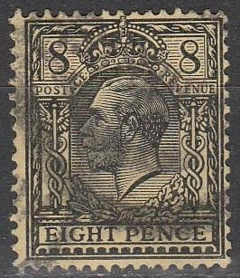 Great Britain #169 F-VF Used CV $12.50  (A3016)