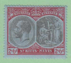 ST KITTS & NEVIS 33  MINT LIGHTLY HINGED OG *  NO FAULTS EXTRA FINE