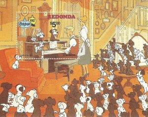 Redonda  SS   Disney   Dalmations  Mint NH VF 1982 PD