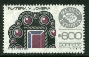 MEXICO Exporta 1497a, $600P Jewelery. Unwmk Thin Paper 3. MINT, NH. VF.