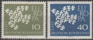 Germany #844-5 MNH F-VF  (ST1943)