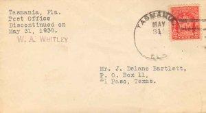 United States Florida Tasmania 1930 4b-bar  1916-1930  Philatelic.