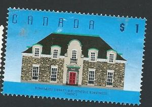 Canada # 1181 $1 Runnymede Library, Toronto (1989) used