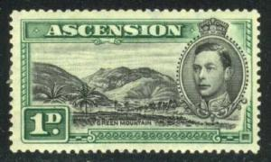 Ascension #41 Green Mountain, Unused (20.00)