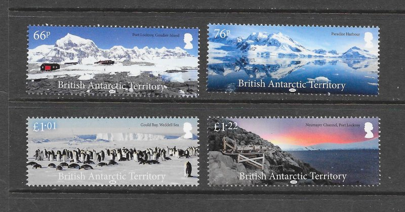 CORALS - BRITISH ANTARCTIC TERRITORY  TOURISM  MNH