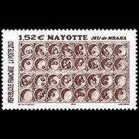 MAYOTTE 2003 - Scott# 189 Mraha Games Set of 1 NH