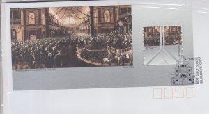 2001 Australia Parliament (2) SS  (Scott 1960a,1961a) FDC