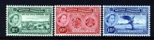 BRITISH HONDURAS QE II 1960 Post Office Centenary Set SG 191 to SG 193 MINT