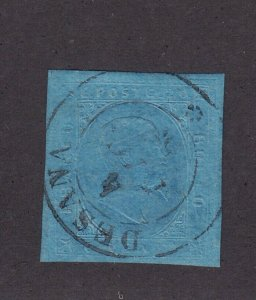 Sardinia Scott # 5 VF-XF used neat cancel with nice color cv $ 200 ! see pic !