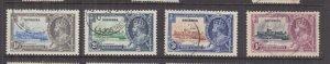 NIGERIA, 1935 Silver Jubilee set of 4, used..