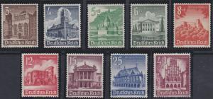 Germany B177-B185 MNH (1940)