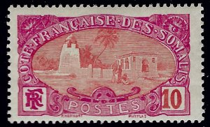 Somali Coast Sc #68 Mint OG F-VF hr/thin...Colonies are in demand!