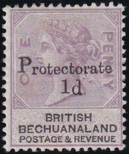 Bechuanaland 1888 SC 60a VF LH Short 1