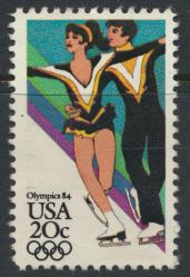 USA Used  SC# 2067  Ice Dancing Olympics see details