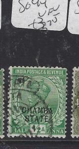 INDIA CHAMBA  (PP2410B)  KGV  1/2A       SG 44      VFU