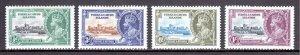 Turks and Caicos - Scott #71-74 - MH - See description - SCV $8.60