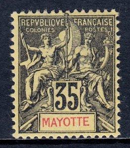 Mayotte - Scott #13 - MLH - Regummed - SCV $11