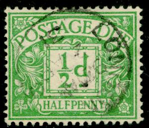 SGD10, ½d emerald, FINE USED, CDS. WMK BC