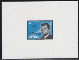 Liberia # 414, C160, John F. Kennedy, Mini Sheets, NH,