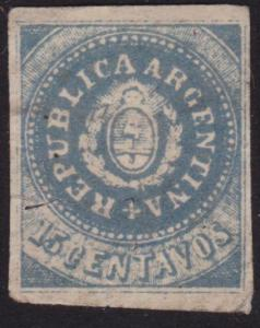ARGENTINA  An old forgery of a classic stamp...............................6078