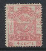 North Borneo  SG 40 MH     please see scans & details