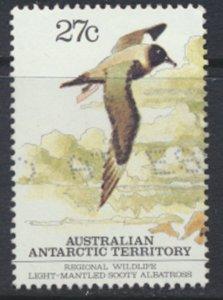 Australian Antarctic Territory SG 55  SC# L55a  Used Albatross   1982   see scan
