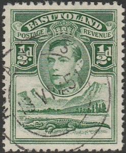 Basutoland, #18 Used From 1938