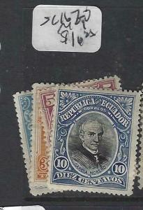 ECUADOR  (P1706B)   SC 167-70   MOG