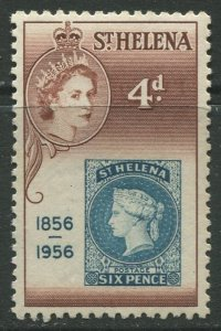 STAMP STATION PERTH St Helena #154 Cent. of St Helena 1st Postage Stamp 1956 MNH