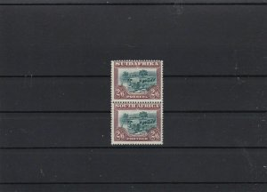 south africa 1927 2½ shillings Lmm  stamps pair cat £150 ref r8897
