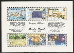 Pitcairn Islands 347 1991 Bicentennial s.s. MNH
