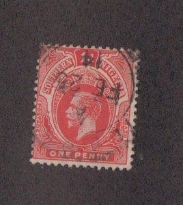 SOUTHERN NIGERIA Sc 46 - used  1d