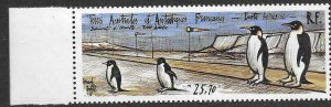 FRENCH SOUTHERN & ANTARCTIC TERRITORIES SG305 1992 LANDING STRIP AT DUMONT MNH