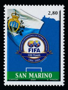 San Marino 1600 MNH FIFA, Football, Soccer, Sports