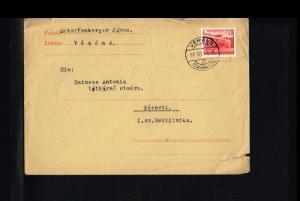 1958 - Hungary Cover - To Pécsett [B07_083]