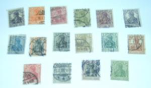 Germany - 16 Used, Germania. SCV - $19.35