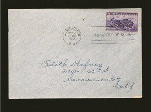 USA 925 Corregidor Philippines 1944 First Day Cover