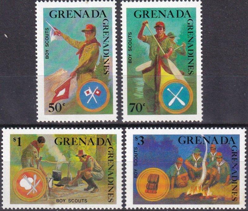 Grenada Grenadines #949-52 F-VF Unused CV $4.50 (Z7867)