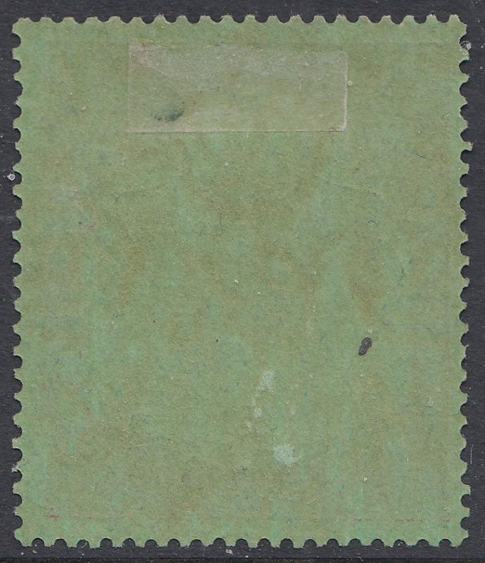 Bermuda KGVI 1938 10/- 10s Green Deep Red SG119a Chalk CV £225