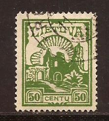 Lithuania  #  208  used
